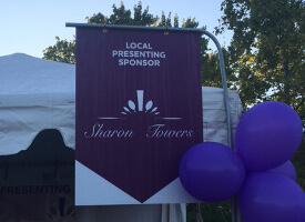 Sharon Towers Sponsors Walk To End Alzheimer's