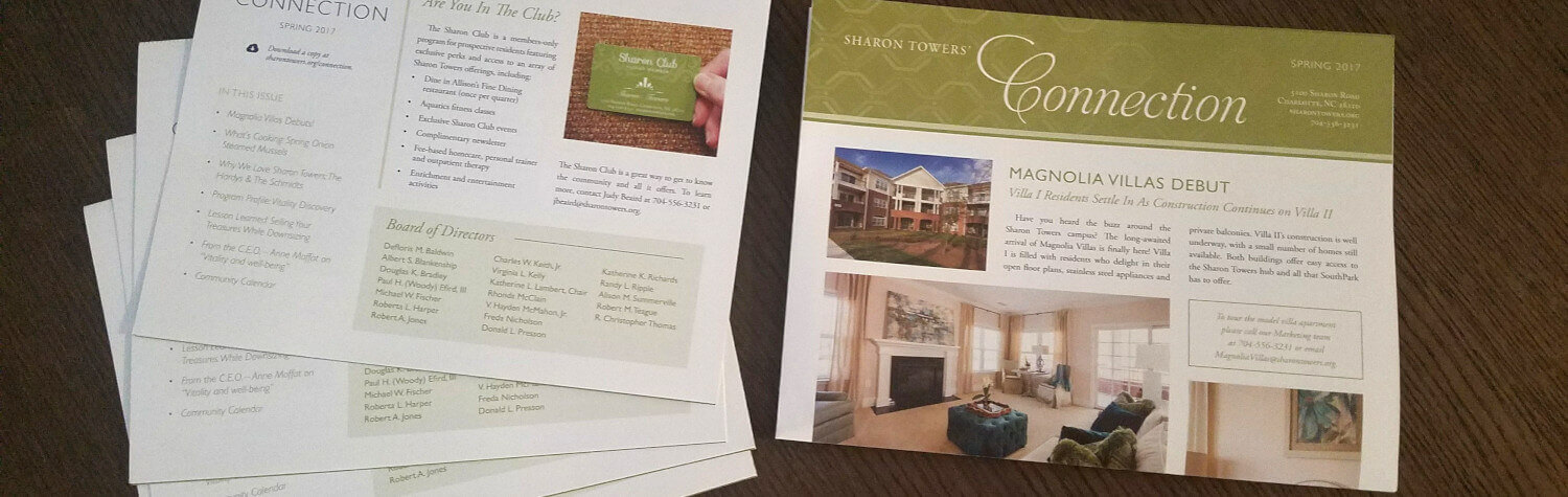 Sharon Towers' The Connection newsletter