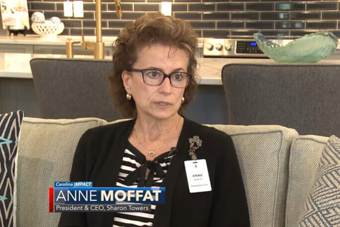 Sharon Towers CEO Anne Moffat on PBS Charlotte