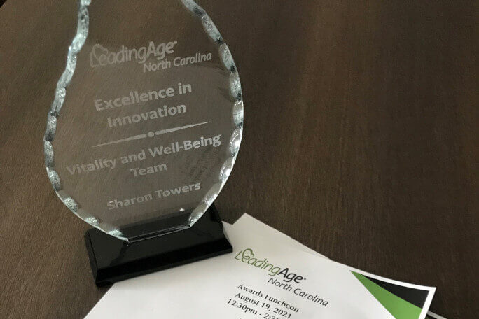 LeadingAge NC Excellence in Innovation Award